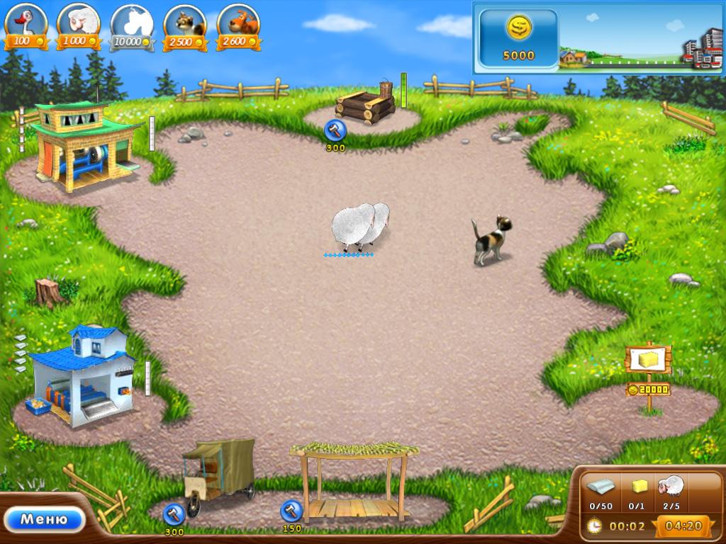 Игра ферма малыша панды
