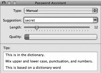 Рис. 6.26. Пример плохого пароля, который взламывается словарным поиском