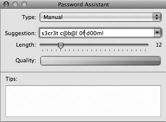 Рис. 6.29. По-настоящему стойкий пароль