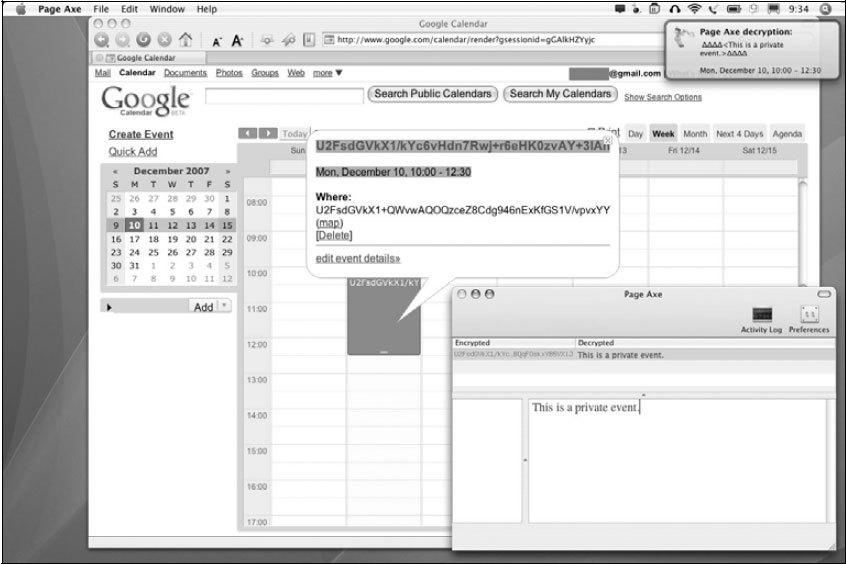Рис. 2.39. Зашифрованный текст можно расшифровать в автономном режиме (offline)