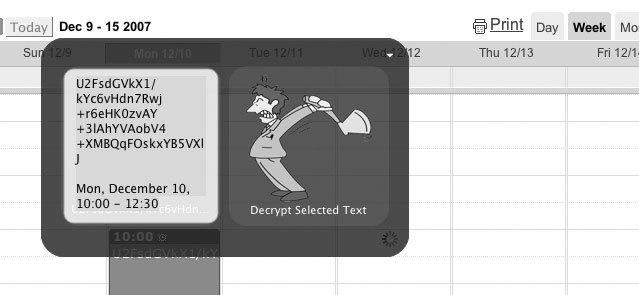 Рис. 2.40. Возможно использовать альтернативные перехватчики пользовательского интерфейса, например, триггеры Quicksilver