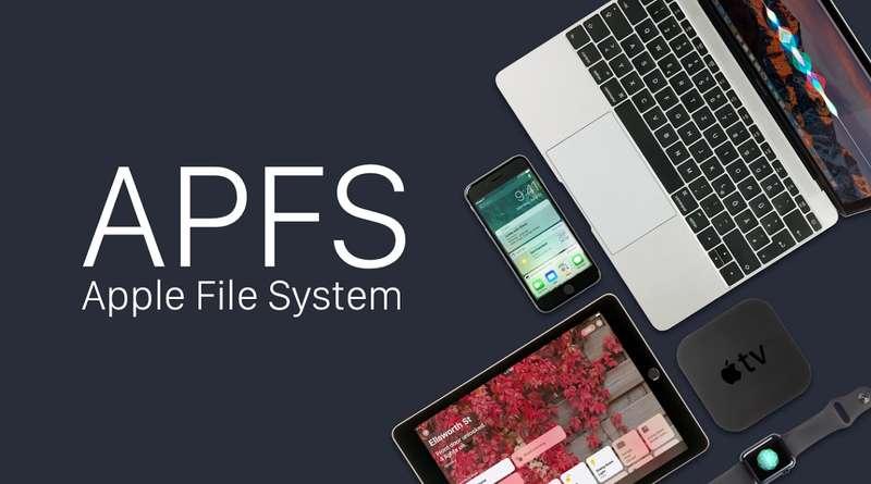 Операционная система APFS в High Sierra