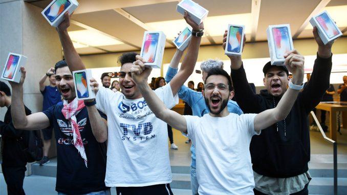 iPhone X - старт продаж