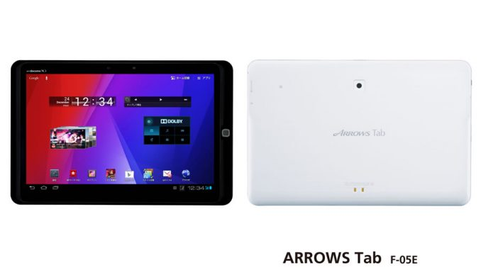 Fujitsu Arrows Tab