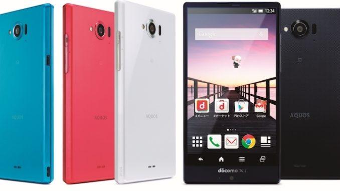 Sharp Aquos Phone Zeta