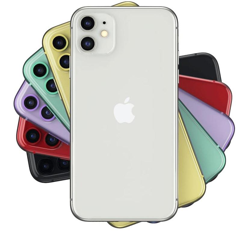 Разнообразие цветов Айфон 11