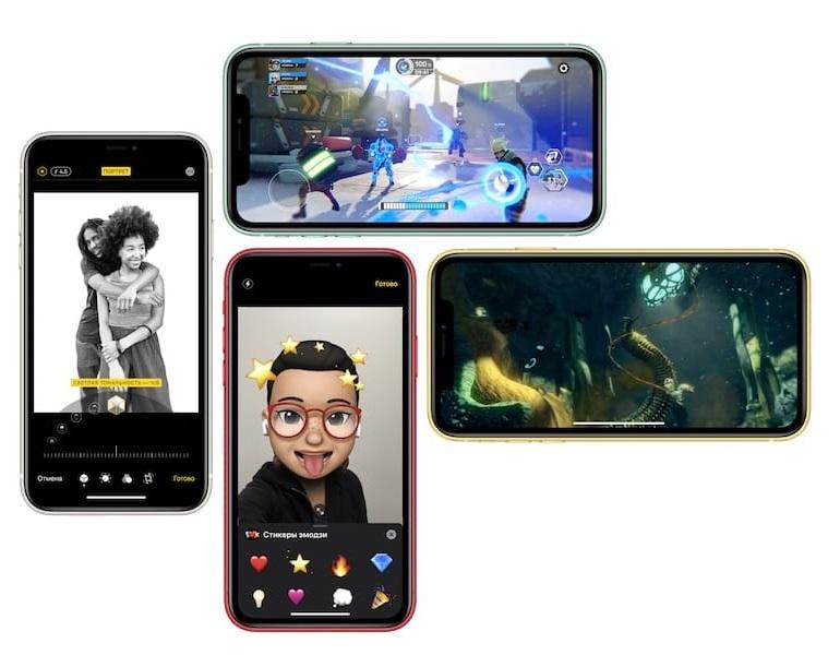 Технические характеристики Айфон 11