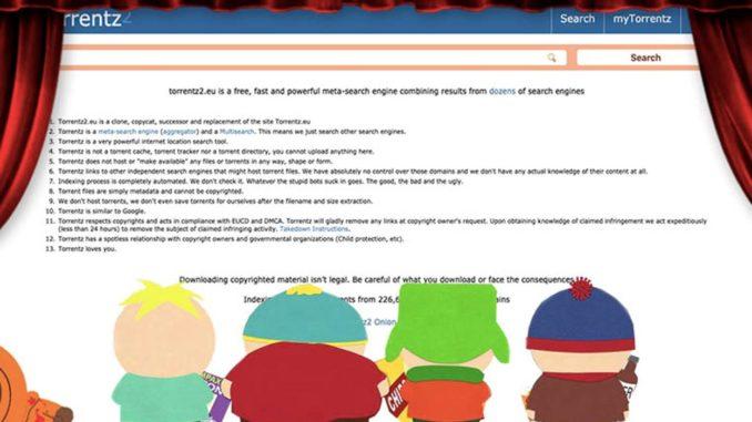 Torrentz2.eu: Список Прокси И Зеркальных Сайтов